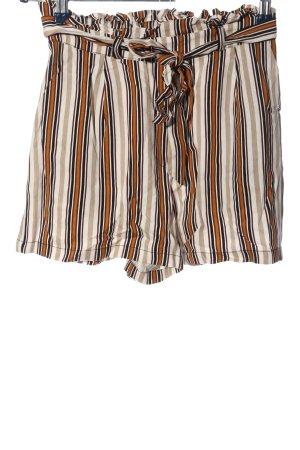 Pull & Bear High-Waist-Shorts Allover-Druck Casual-Look