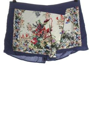 Pull & Bear Hot Pants Motivdruck Casual-Look