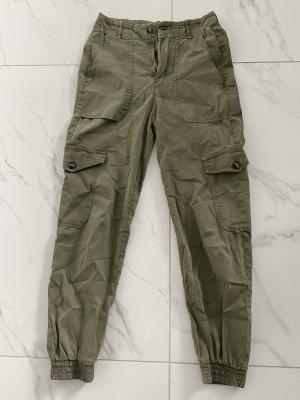 Pull & Bear Jersey Pants khaki