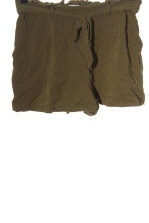 Pull & Bear Hot Pants braun Casual-Look