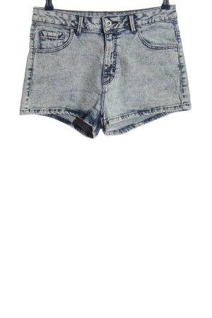 Pull & Bear Hot Pants blau Casual-Look