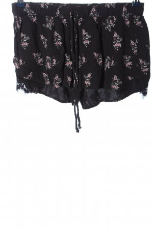 Pull & Bear Hot Pants Allover-Druck Casual-Look