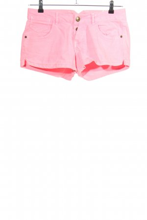 Pull & Bear Hot Pants pink Casual-Look