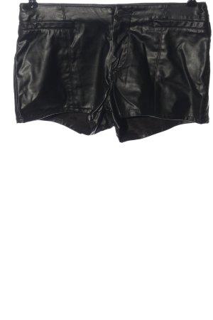 Pull & Bear Hot Pants schwarz Casual-Look