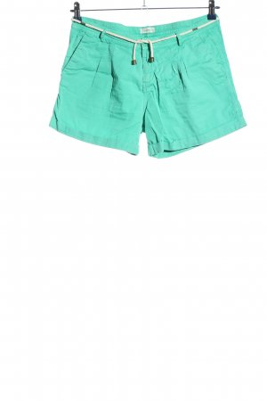 Pull & Bear Hot Pants turquoise casual look