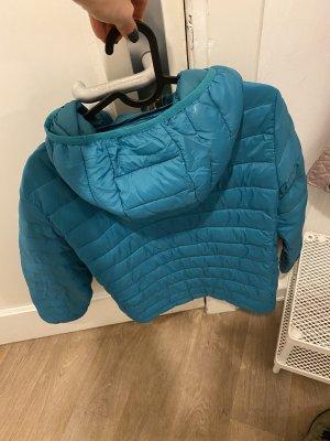 Pull & Bear Giacca con cappuccio blu neon