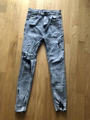 Pull & Bear Jeans 36 grau