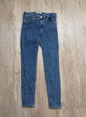 Pull&Bear Jeans 38 40 M blau High waist