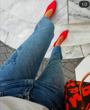 Pull & Bear Jeans boyfriend bleuet