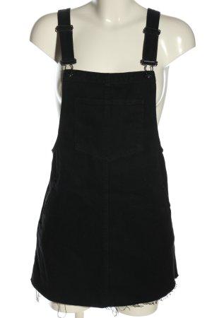 Pull & Bear Jeanskleid schwarz Casual-Look
