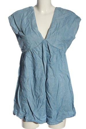 Pull & Bear Denim Dress blue casual look