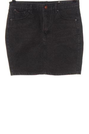 Pull & Bear Jeansowa spódnica jasnoszary W stylu casual