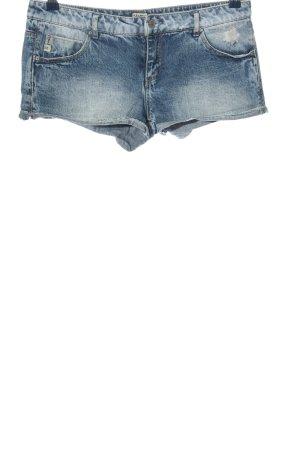 Pull & Bear Jeansshorts blau Casual-Look