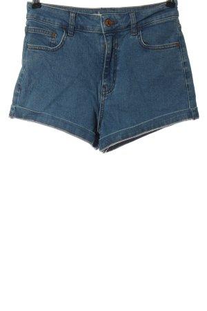 Pull & Bear Spijkershort blauw casual uitstraling
