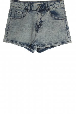 Pull & Bear Jeansshorts blau Casual-Look