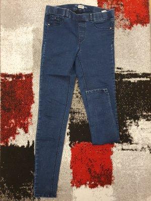 Pull & Bear Jeggings dark blue