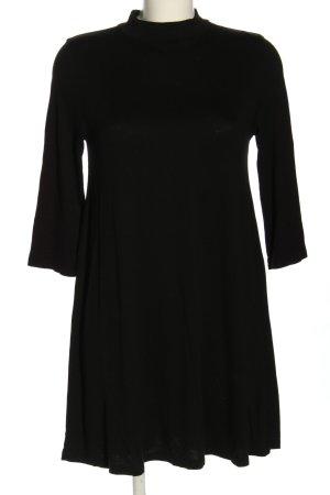 Pull & Bear Sukienka z dżerseju czarny W stylu casual
