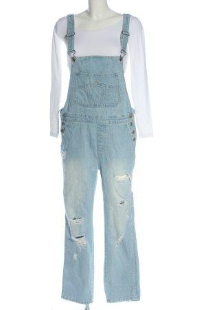 Pull & Bear Jumpsuit blau Casual-Look
