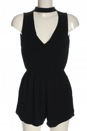 Pull & Bear Jumpsuit schwarz Elegant