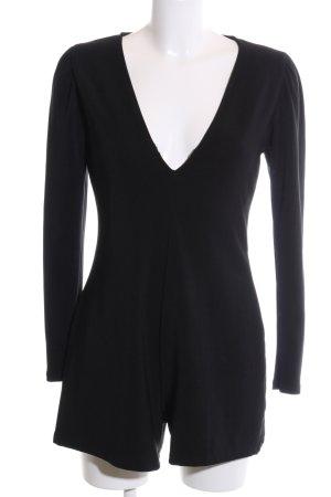 Pull & Bear Jumpsuit schwarz Casual-Look
