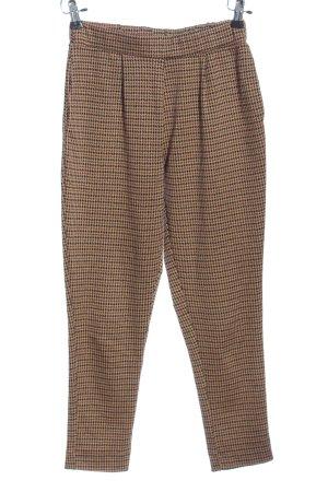 Pull & Bear Pantalón de pinza alto estampado a rayas look casual
