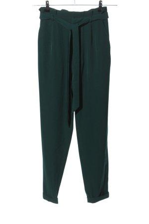 Pull & Bear Wortelbroek groen zakelijke stijl