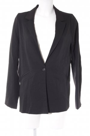 Pull & Bear Kurz-Blazer schwarz Business-Look