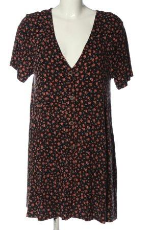 Pull & Bear Robe à manches courtes imprimé allover style décontracté