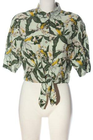 Pull & Bear Koszula z krótkim rękawem Na całej powierzchni W stylu casual