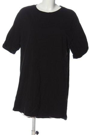 Pull & Bear Kurzarmkleid schwarz Casual-Look