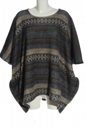 Pull & Bear Kurzarmpullover grafisches Muster Casual-Look