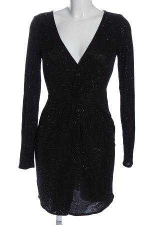 Pull & Bear Langarmkleid schwarz Elegant