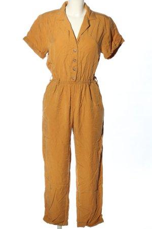 Pull & Bear Langer Jumpsuit orange clair style décontracté