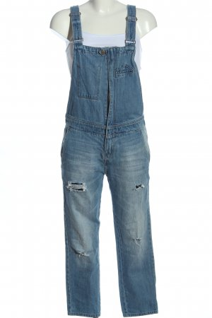 Pull & Bear Dungarees blue casual look