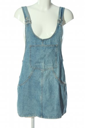 Pull & Bear Latzrock blau Casual-Look