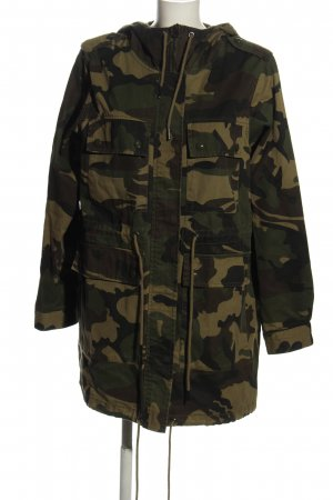 Pull & Bear Military Jacket camouflage pattern casual look