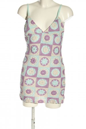 Pull & Bear Minikleid mehrfarbig Casual-Look
