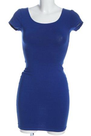 Pull & Bear Minikleid blau Casual-Look