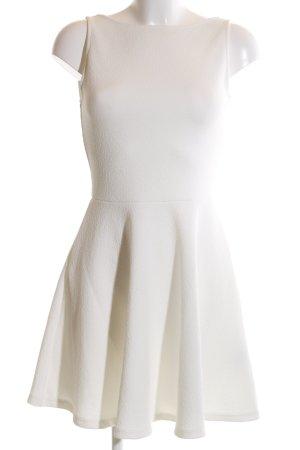 Pull & Bear Minikleid weiß Elegant