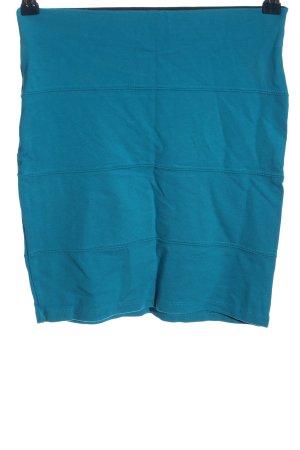 Pull & Bear Minirock blau Casual-Look