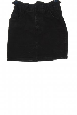 Pull & Bear Minirock schwarz Casual-Look