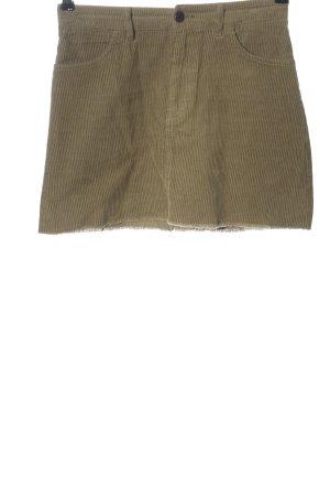 Pull & Bear Minirock khaki Casual-Look