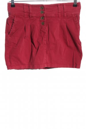 Pull & Bear Minirock rot Casual-Look
