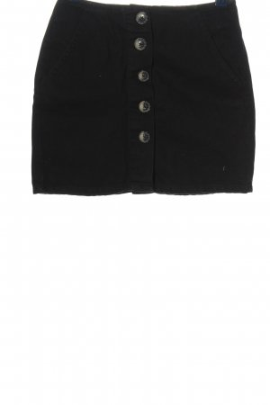 Pull & Bear Spódnica mini czarny W stylu casual