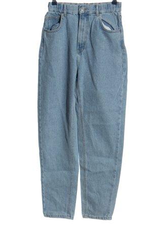 Pull & Bear Mom-Jeans blau Casual-Look