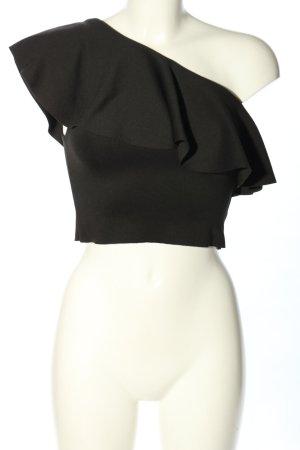 Pull & Bear Top monospalla nero elegante