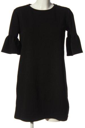 Pull & Bear Shirtkleid schwarz Casual-Look