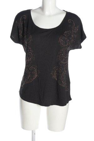 Pull & Bear Camicia oversize nero stile casual