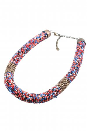 Pull & Bear Pearl Necklace allover print extravagant style