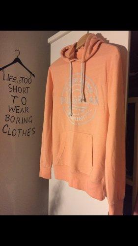 Pull & Bear Norwegian Sweater orange-white